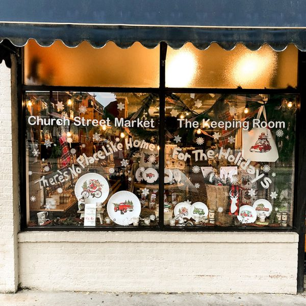 Church Street Market | The Keeping Room | Merry Marietta Window Walk Contestant