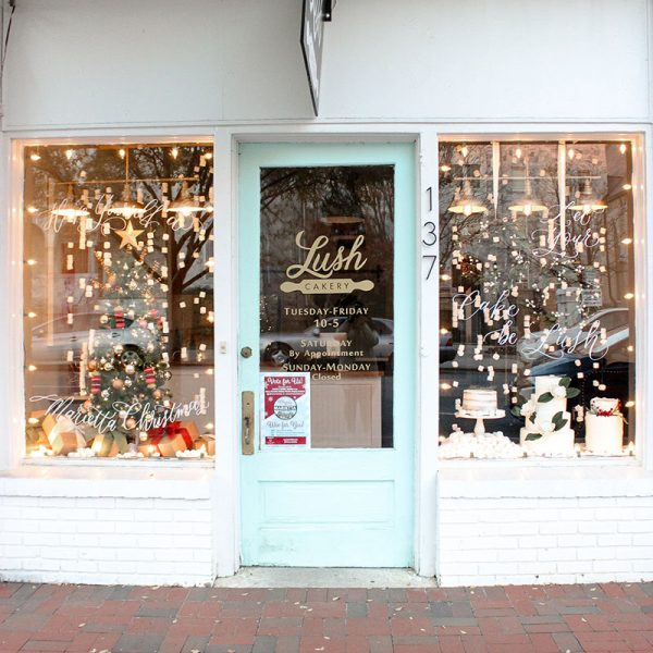 Lush Cakery | Merry Marietta Window Walk Contestant