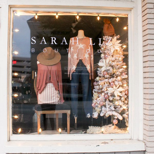 Sarah Liz Boutique | Merry Marietta Window Walk Contestant